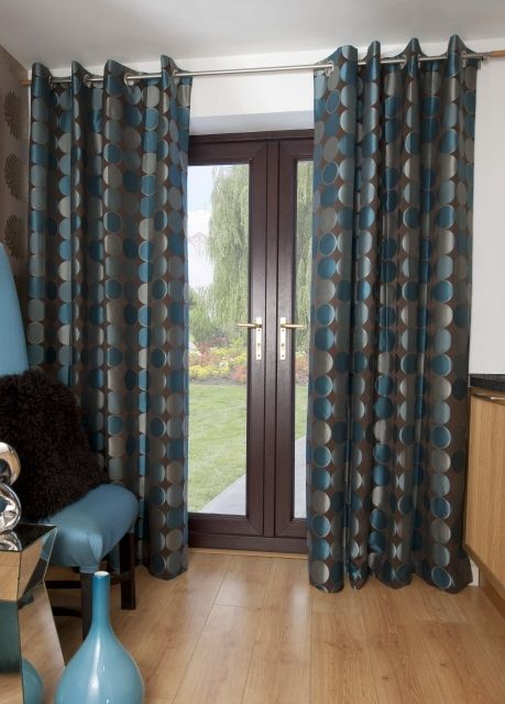 Like The Curtains But Can Anyone Tell Me Where They Can Be Found Please Teal Living Room Decor Teal Curtains Curtains Living Room