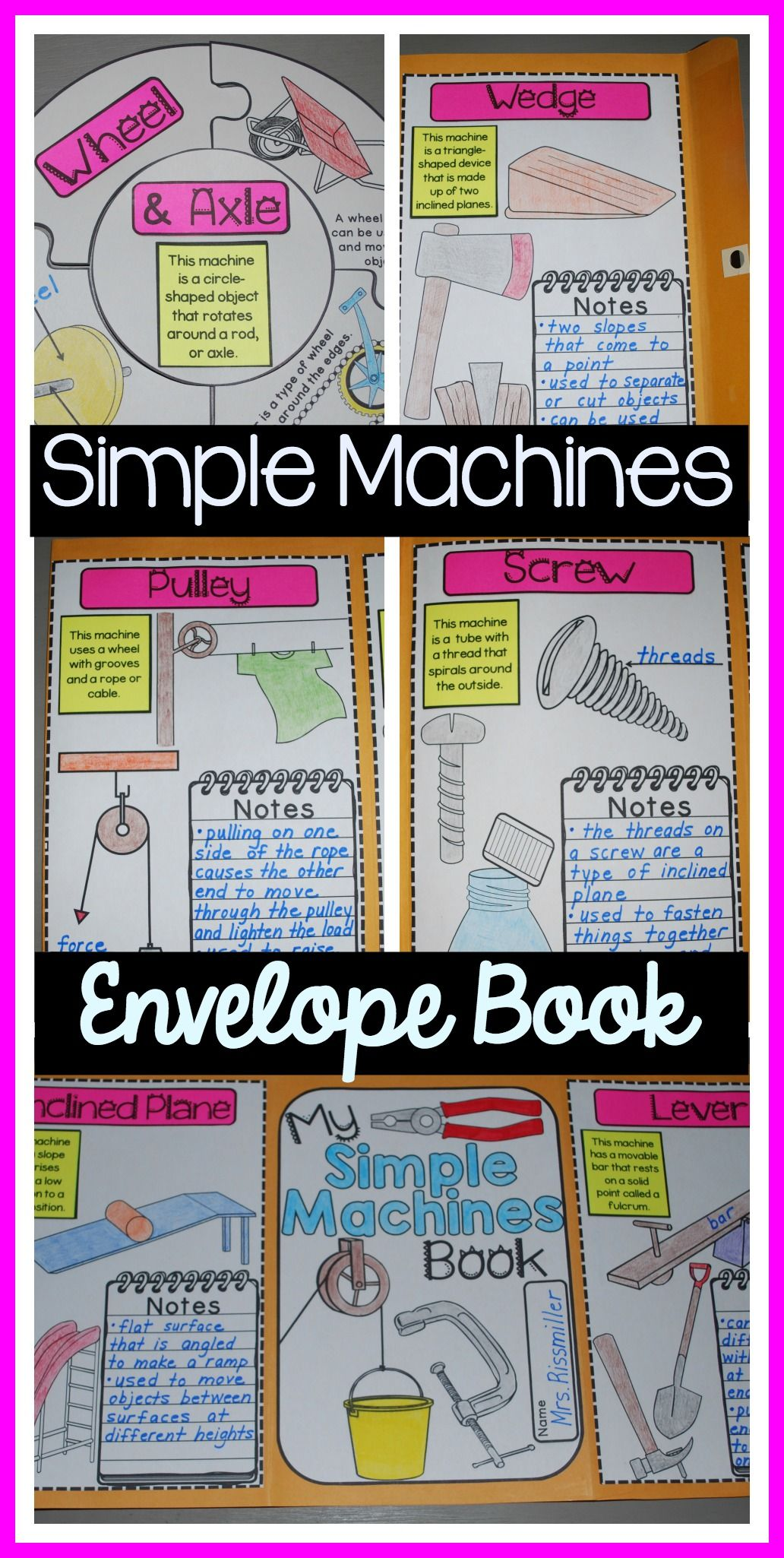 Simple Machines Worksheets For 6th Grade   Printable Worksheets and  Activities for Teachers [ 2050 x 1032 Pixel ]