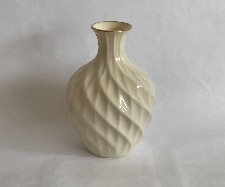 Lenox china bud vase vintage lenox vase ivory porcelain vase lenox china bud vase vintage lenox vase ivory porcelain vase vase w gold trim bulb shaped vase lenox swirl bud vase made in usa floridaeventfo Image collections