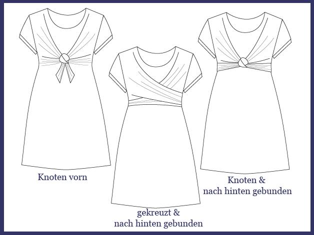 Pin von SCHNITTBOX auf Schnittmuster Kleider | Pinterest