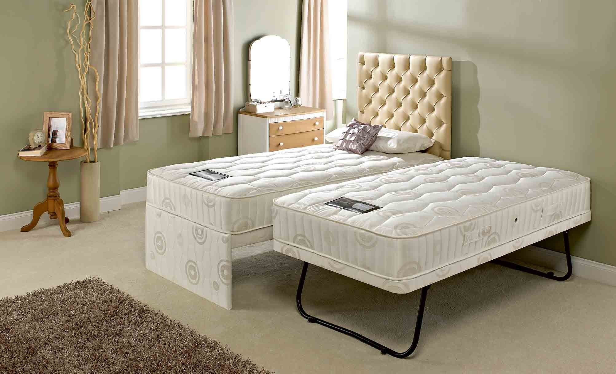 Folding Double Guest Bed With Mattress Bolero Guest Bed Extended Guest Beds Trundle Bed Mattress