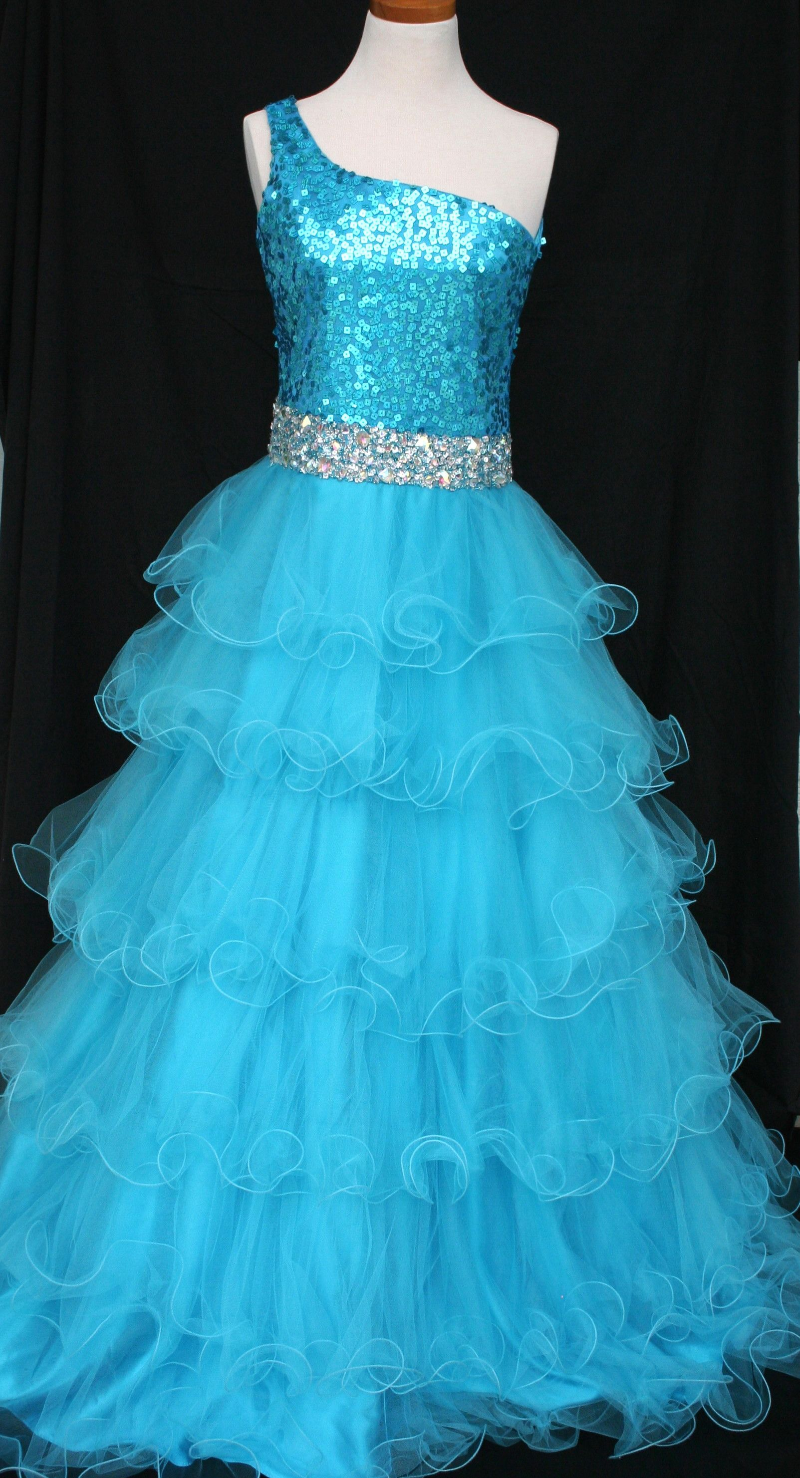 GIRL\'S SIZE 14 TURQUOISE IN STOCK & READY TO SHIP! CLICK PICTURE ...