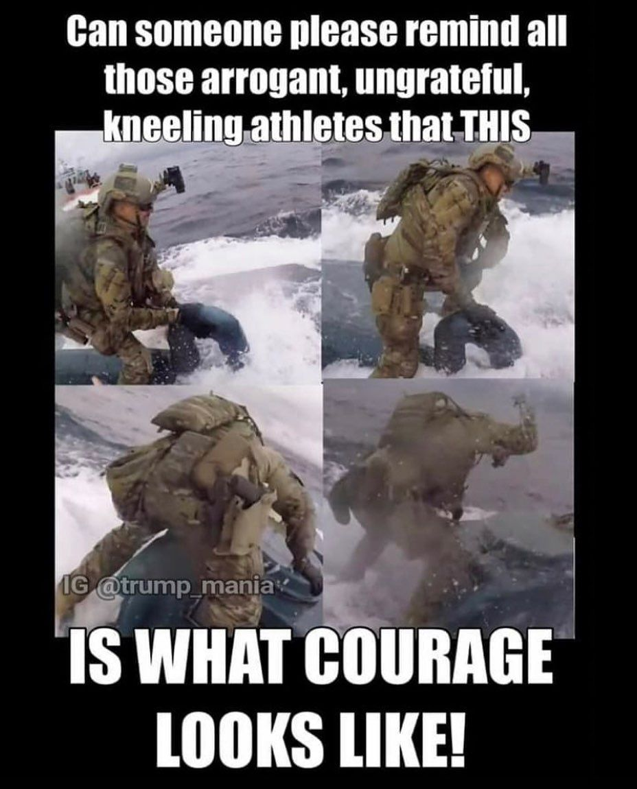 1 Patriot Page On Ig On Instagram This Was Insane What Our Troops Will Do To Keep Us Safe Repu Military Love Military Heroes Military Memes