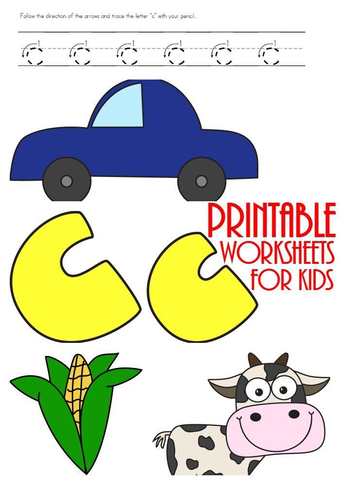 FREE Letter C Printables | Ultimate Homeschool Board | Pinterest
