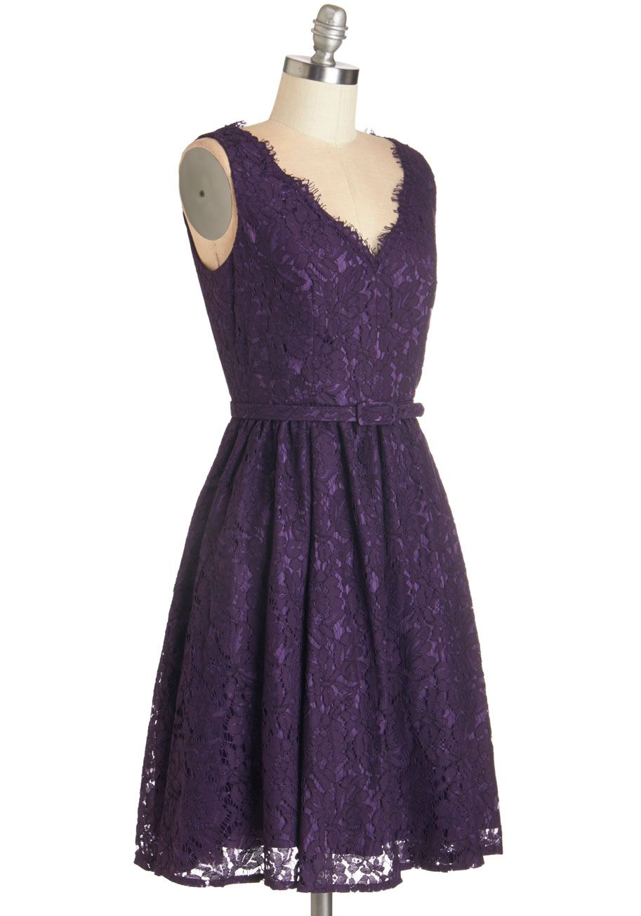 Lilac dress for wedding  Sweetest Spread Fascinator in Black  ModCloth Vintage dresses and