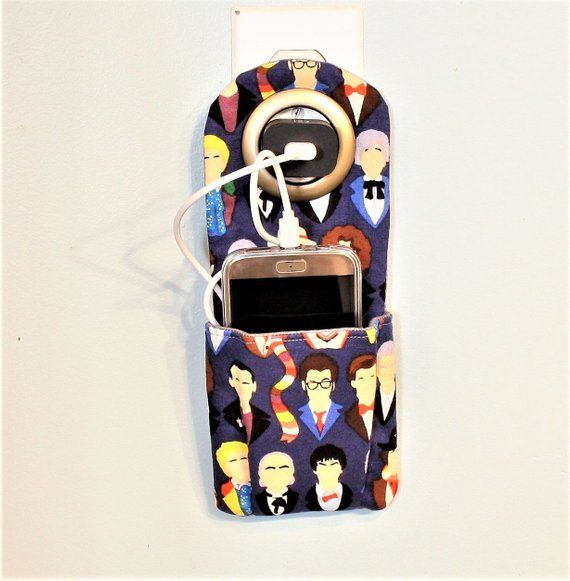Doctor Who Hanging Phone Charging Station, The 12 Doctors Style #12doctor