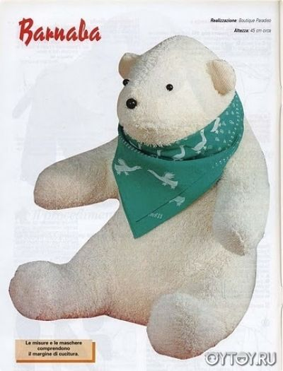 DIY Polar Bear Softie - FREE Sewing Pattern | Doll & Plush tuto ...