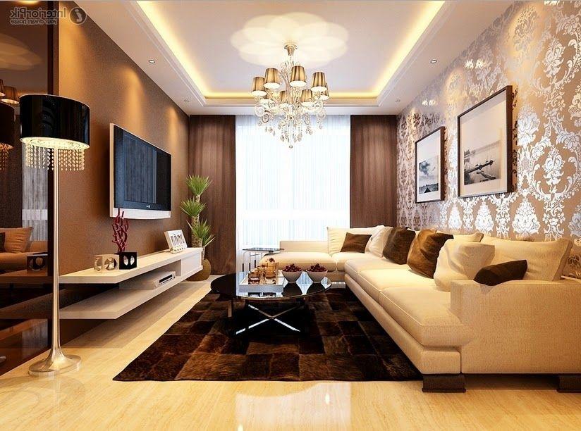 50 Contoh Wallpaper Dinding Ruang Tamu Minimalis Desainrumahnya