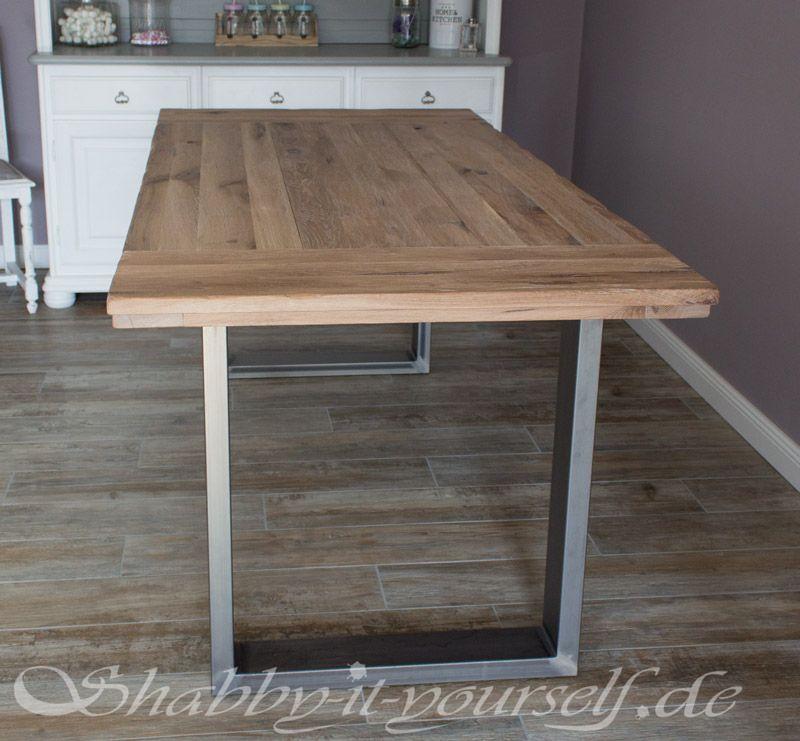 lofttisch selber bauen 12 esszimmer inspirationen pinterest selber bauen tisch und m bel. Black Bedroom Furniture Sets. Home Design Ideas
