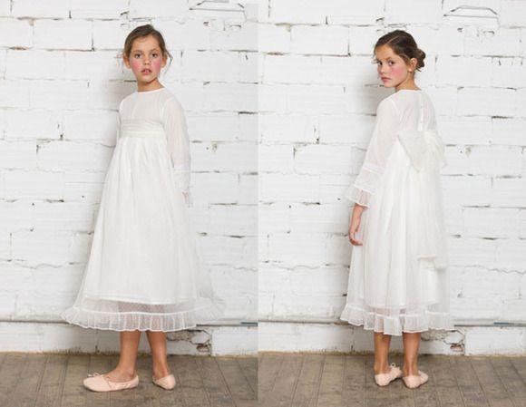 02c556f782 Vestidos de Primera Comunión para niñas de Nicoli