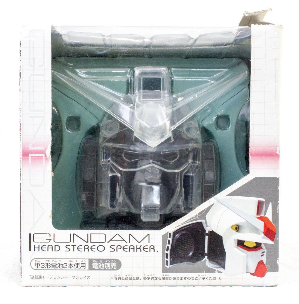 Gundam Figure Head Type Stereo Speaker Clear Ver