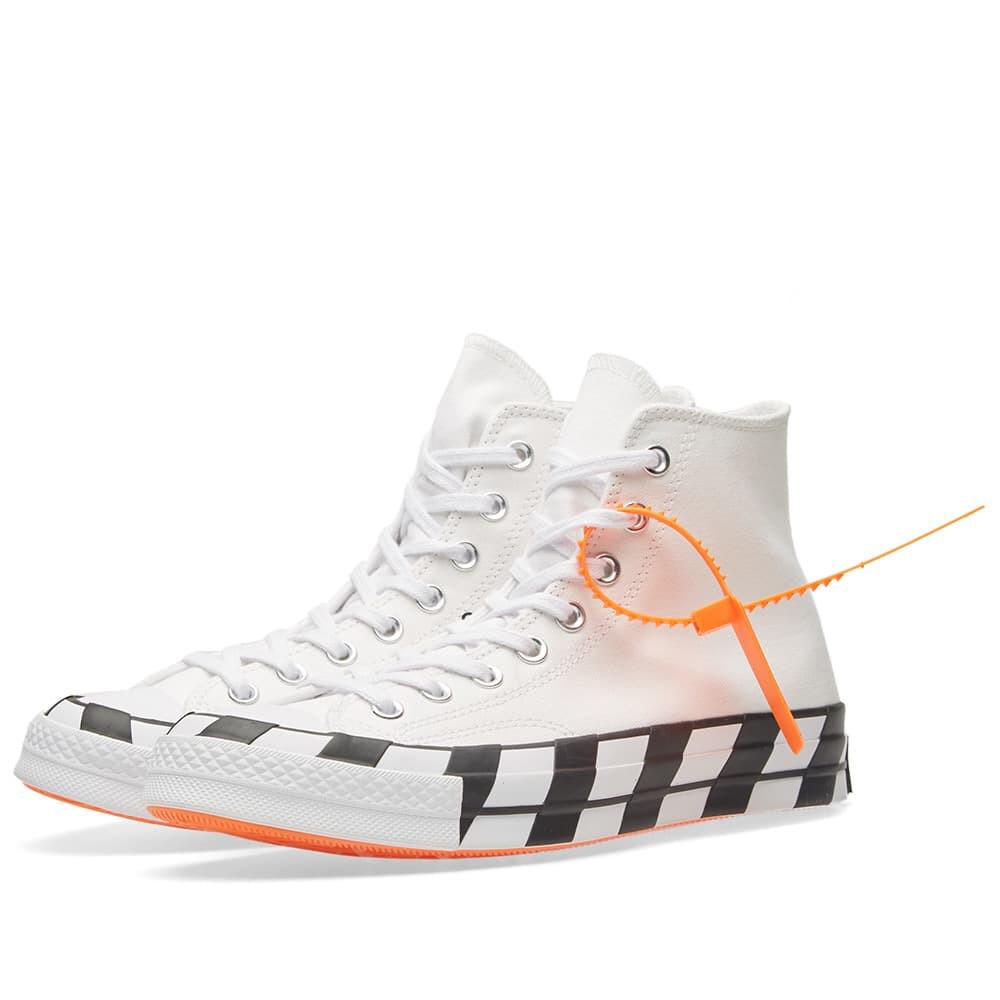 Converse X Off White Chuck 70 White Chucks Converse Sneakers Fashion