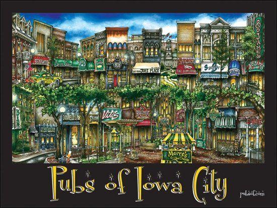 Pubs Of Iowa City Iowacity Bars Drinks Pubs Food Restaurants