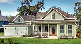Southern Style House Plan with 3 Bed 4 Bath