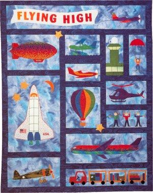 Flying High Quilt Pattern - The Virginia Quilter