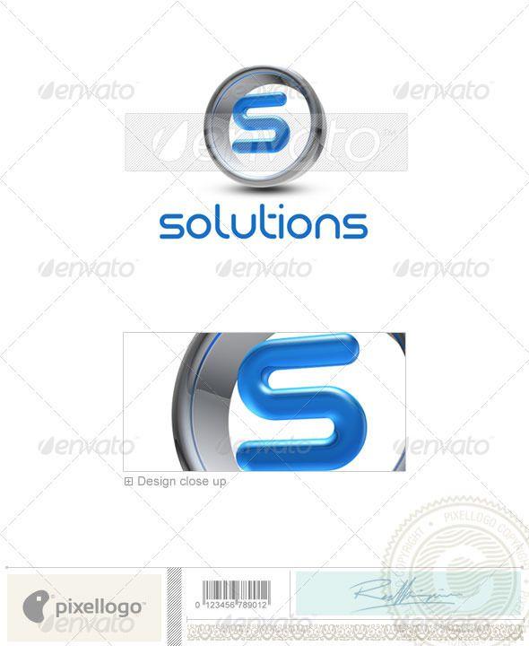 S Logo - 3D-288-S