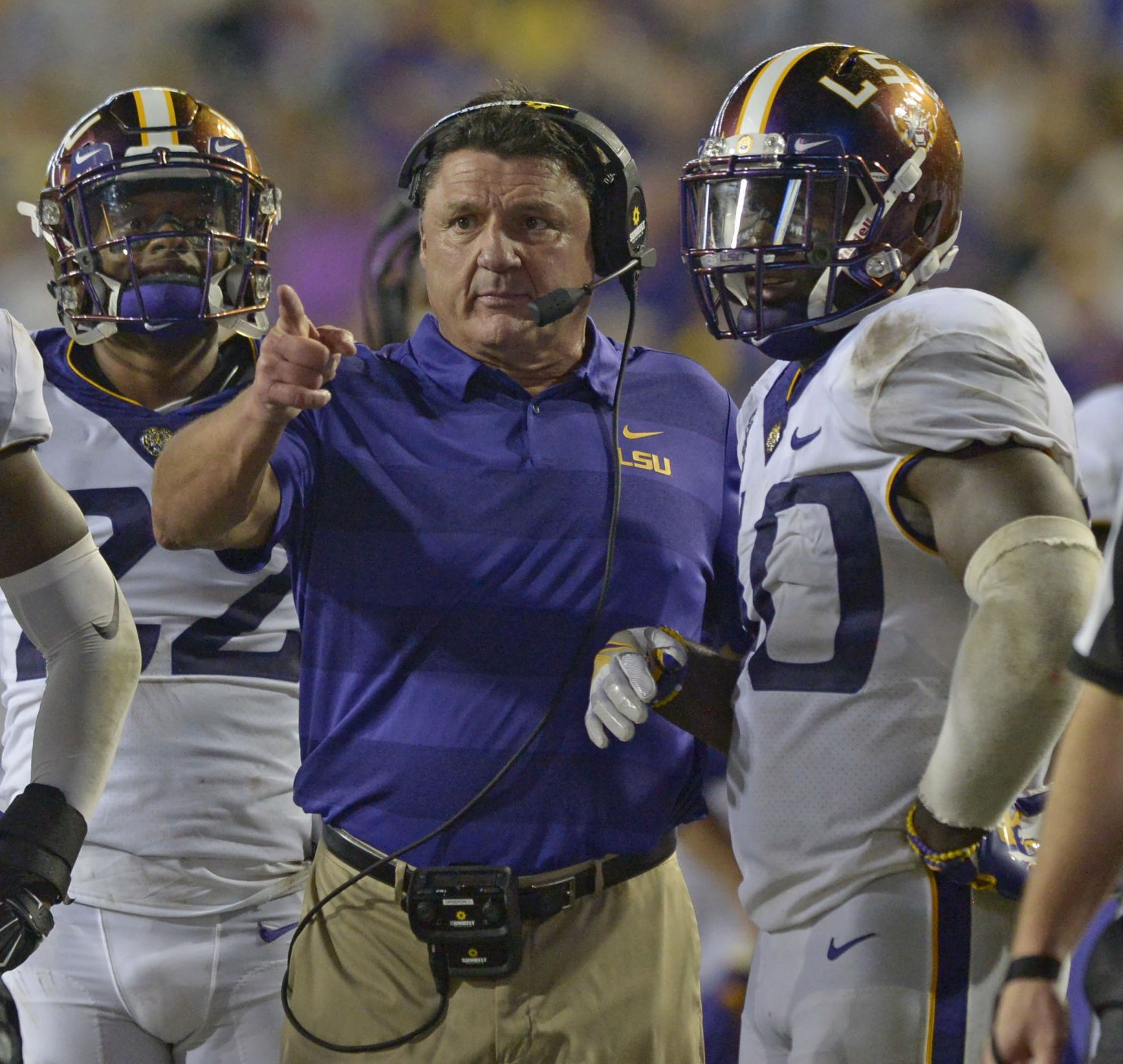 Lsu Coach Ed Orgeron We Re Better Equipped Than Ever To Play Alabama Lsu Lsu Fans Lsu Tigers