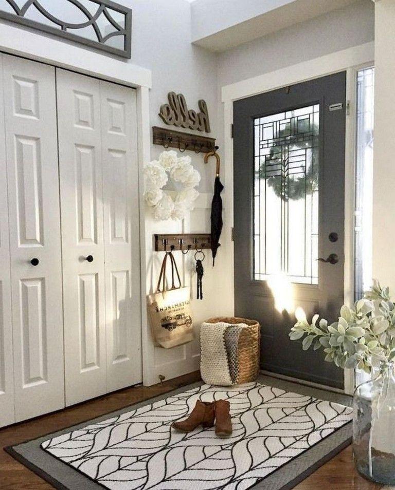 95+ Amazing Rustic Entryway Decorating Ideas