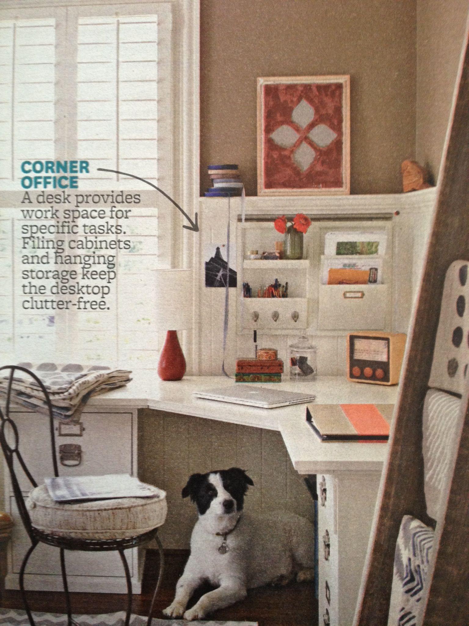 Cute corner desk for the home pinterest desks storage and