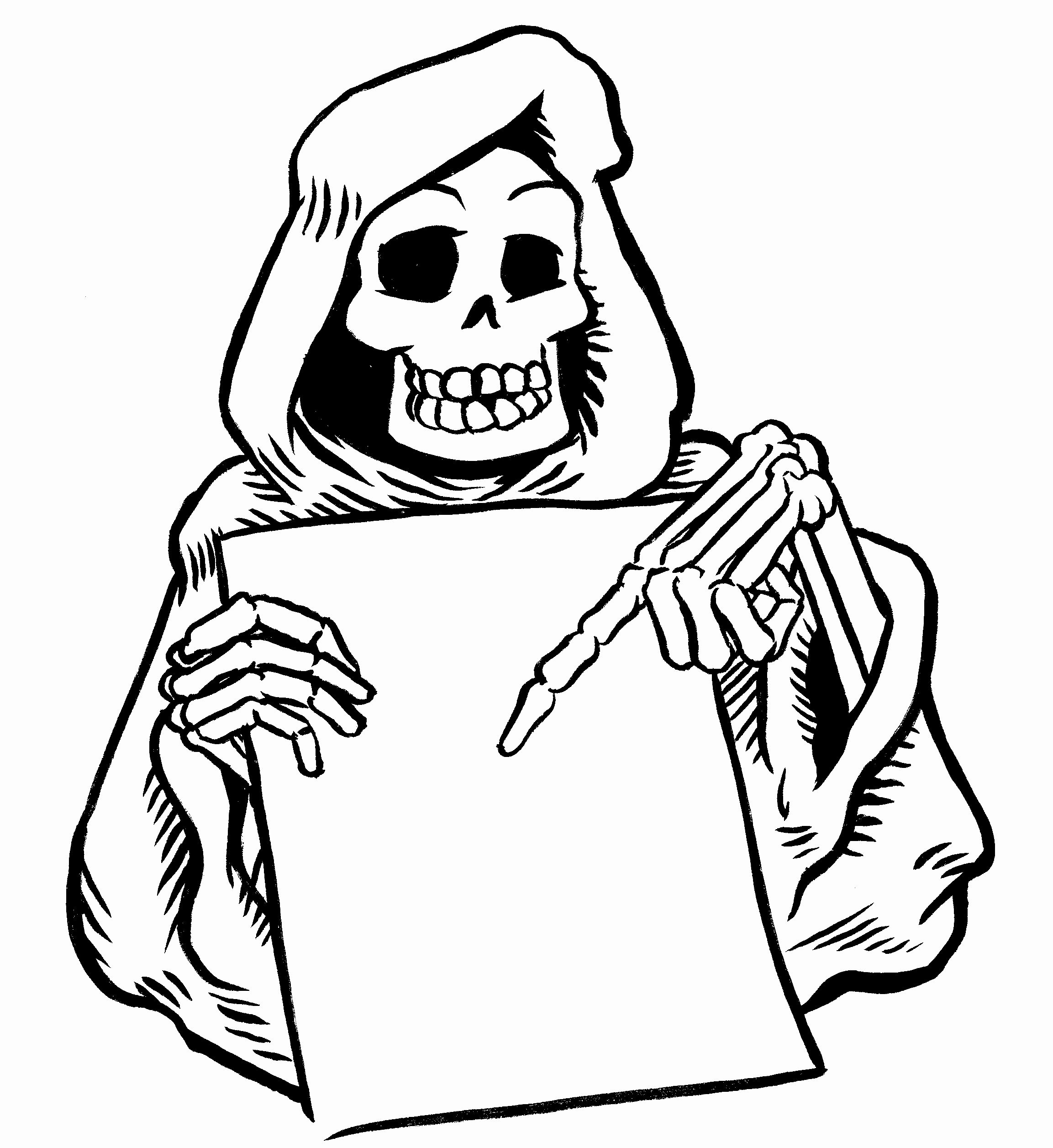 Grim Reaper Coloring Pictures Inspirational Of Walking Dead Coloring Pages 2 Sabadaphnecottage Coloriage Halloween Coloriage Halloween