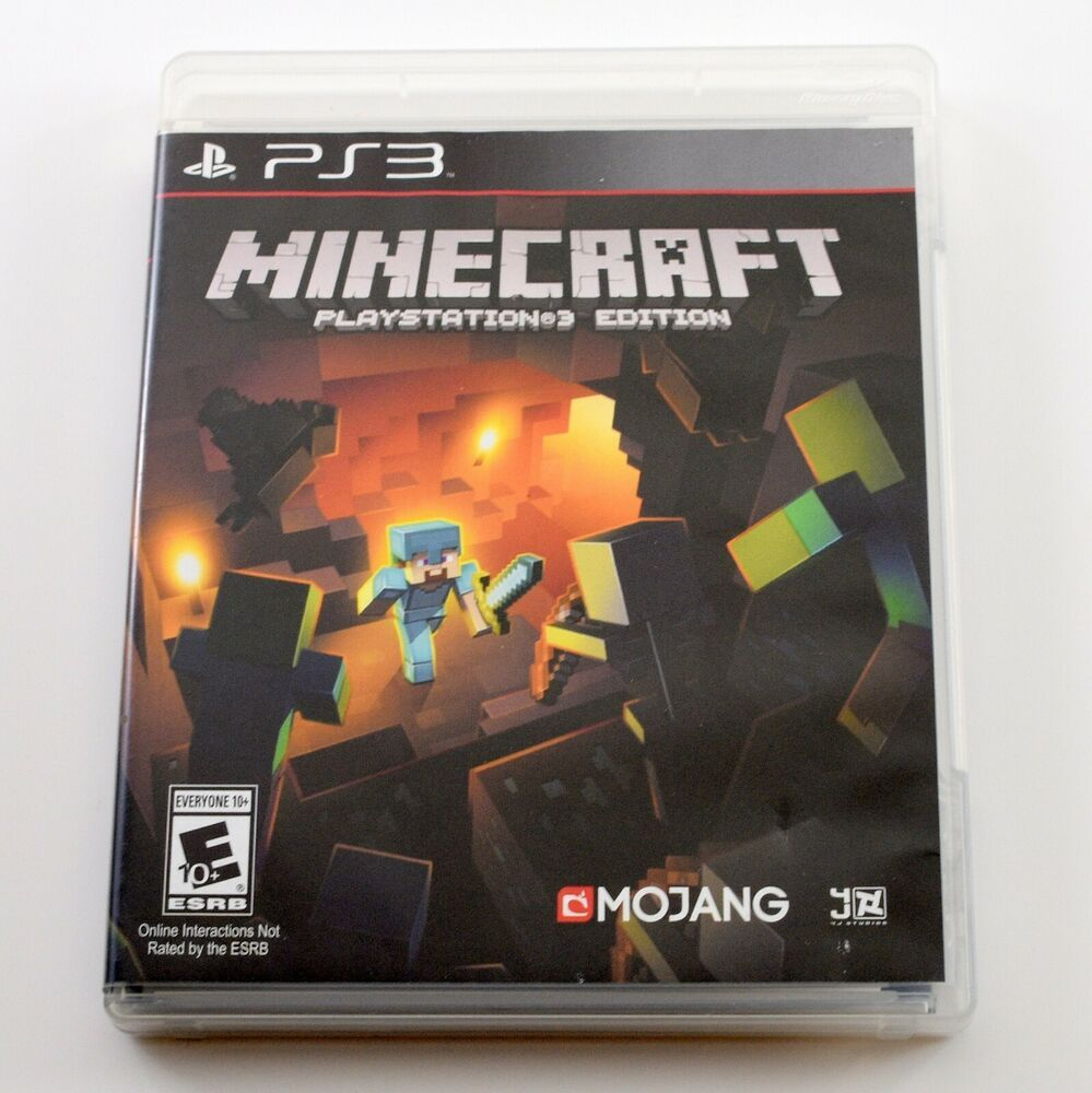 Minecraft Playstation 3 Edition Sony Playstation 3 Ps3 2014 Free Shipping Minecraft Playing Game Playstation Minecraft Sony Playstation