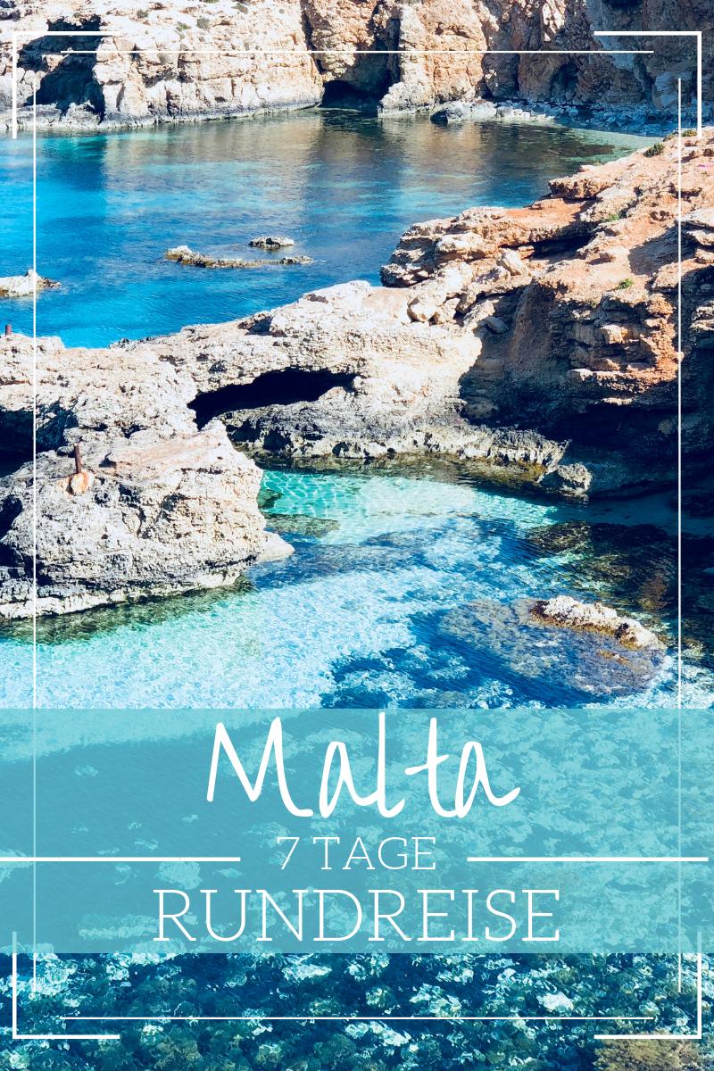 7 Tage Malta Rundreise ohne Mietwagen - Route für eine Woche auf Malta