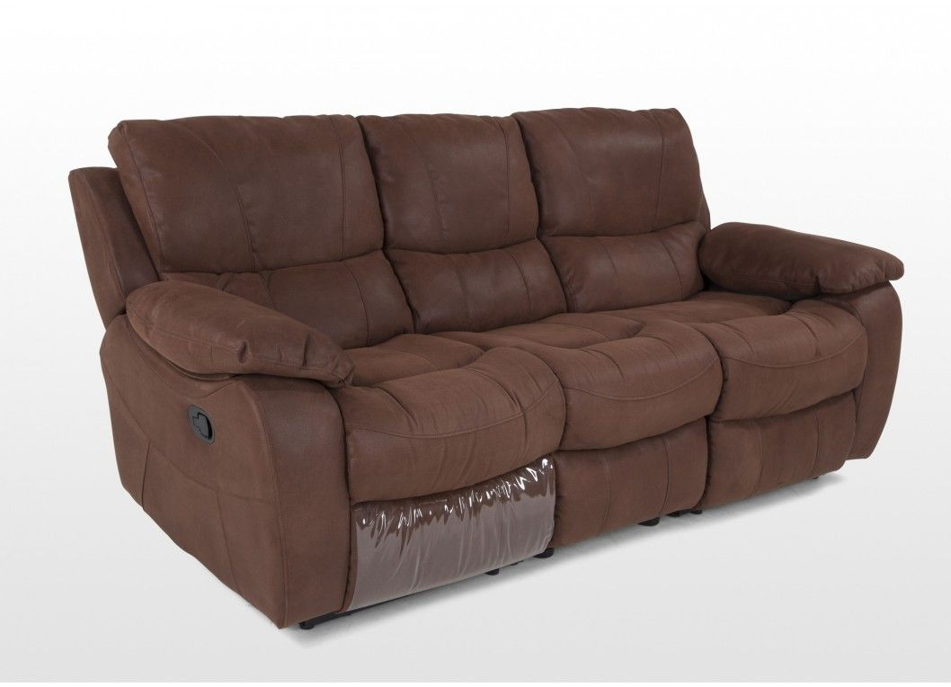 Brown Fabric Reclining Sofa Set Hannah Reclining Sofa Sofa Recliner