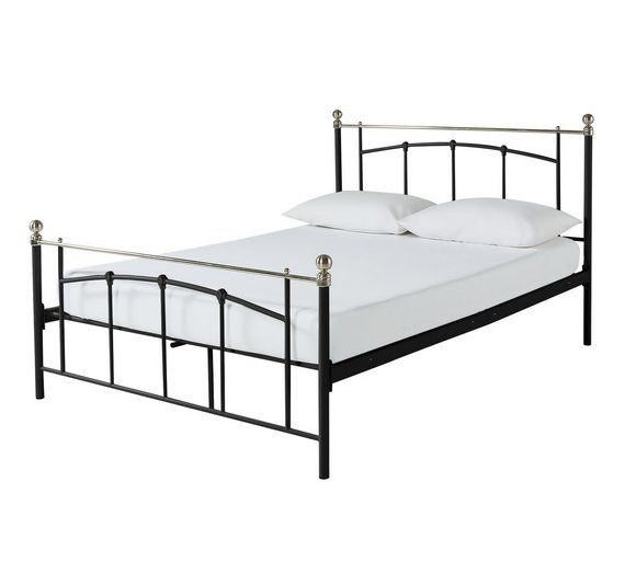Buy Argos Home Yani Double Bed Frame Black Bed Frames Bed
