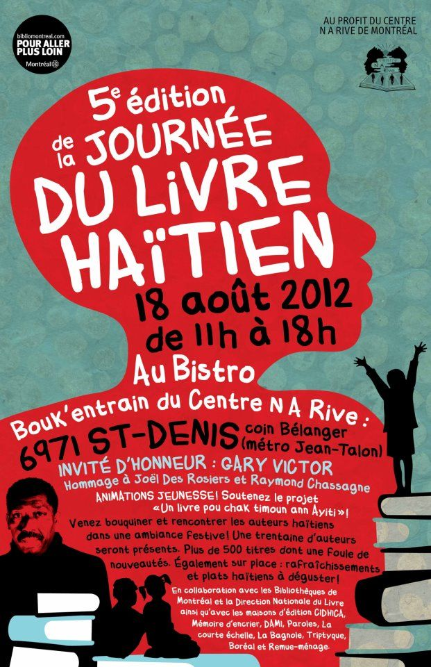 Journee Du Livre Haitien Translate To French Books To Read Haitian Creole