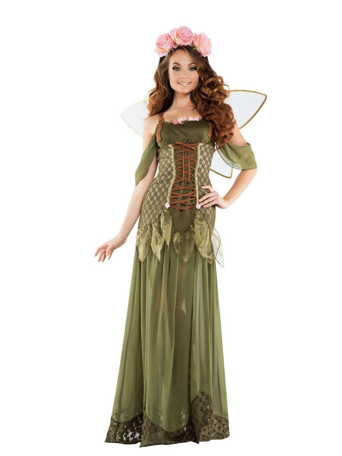 Rose Adult Fairy Princess Costume Rose Adult Fairy Princess Costume