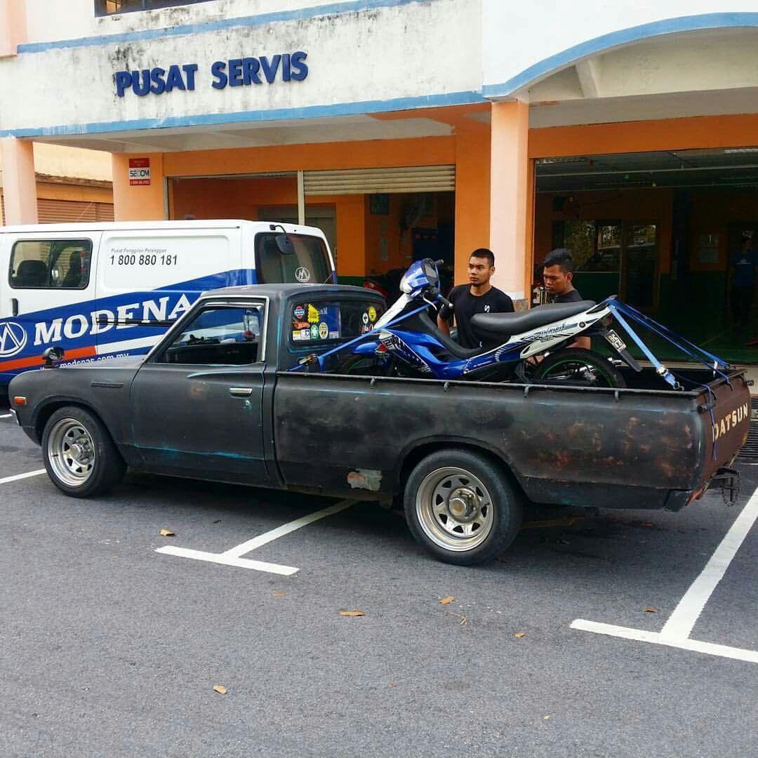 Modenas Dinamik120 Ontow Perlukan Perkhidmatan Towing Tanya