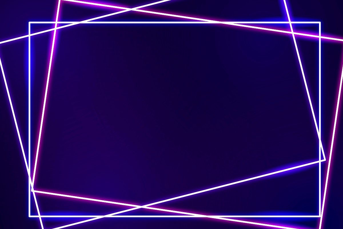 Pink Neon Frame On A Dark Purple Background Vector Free Image By Rawpixel Com Mind In 2021 Dark Purple Background Neon Backgrounds Powerpoint Background Design