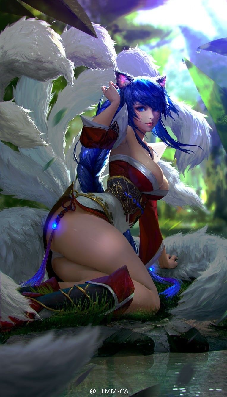 of fan League legends art sexy