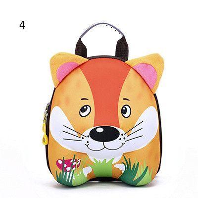 b963bc514c DUDINI New 3D Cute Animal Design Backpack Kids School Bags For Teenage  Girls Boys Cartoon Shaped Children Backpacks Big Size