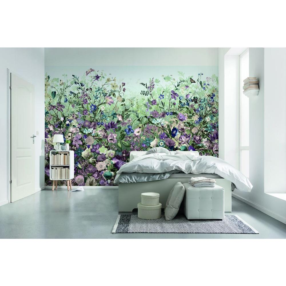Komar 145 In W X 97 In H Botanical Wall Mural Xxl4 035 The Home Depot In 2021 Wall Murals Mural Wallpaper Home Decor