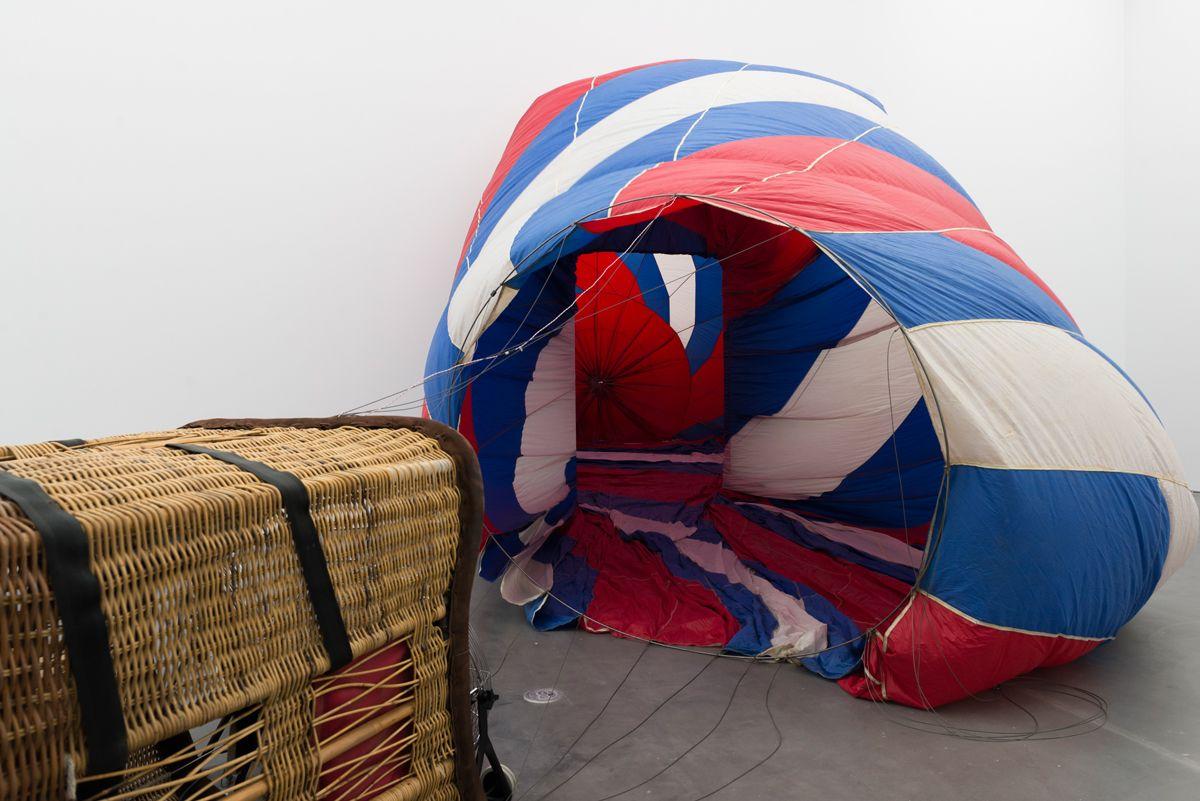 Kris Martin, T.Y.F.F.S.H. (2011). A hot air balloon inside the ...