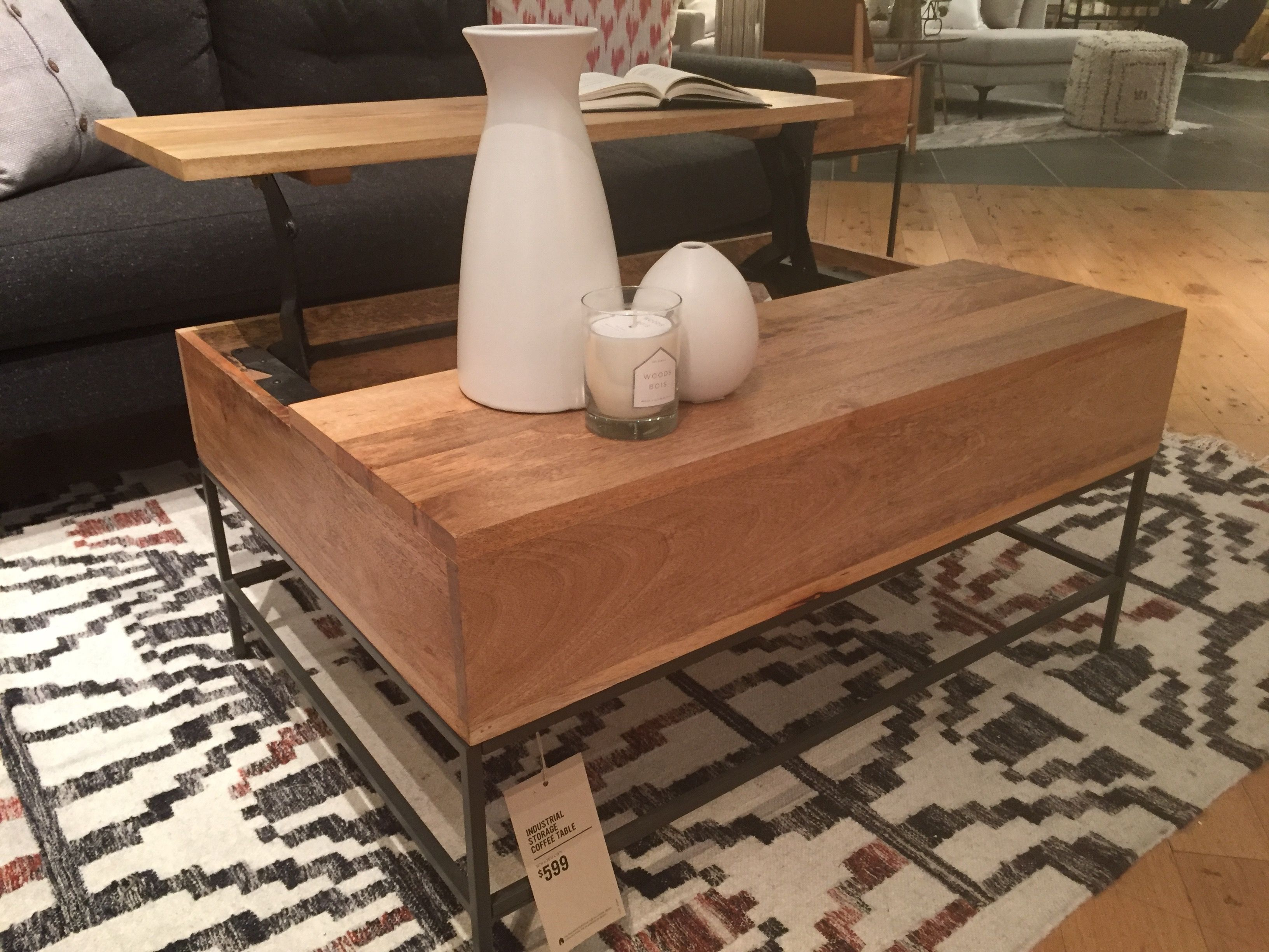 Pop Up Coffee Table (West Elm, Creative Classics In Old Town Alexandria,  Etc.)