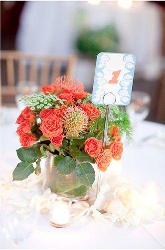Diy Wedding Picture On Visualizeus Table Flower Arrangements Wedding Flowers Wedding Centerpieces