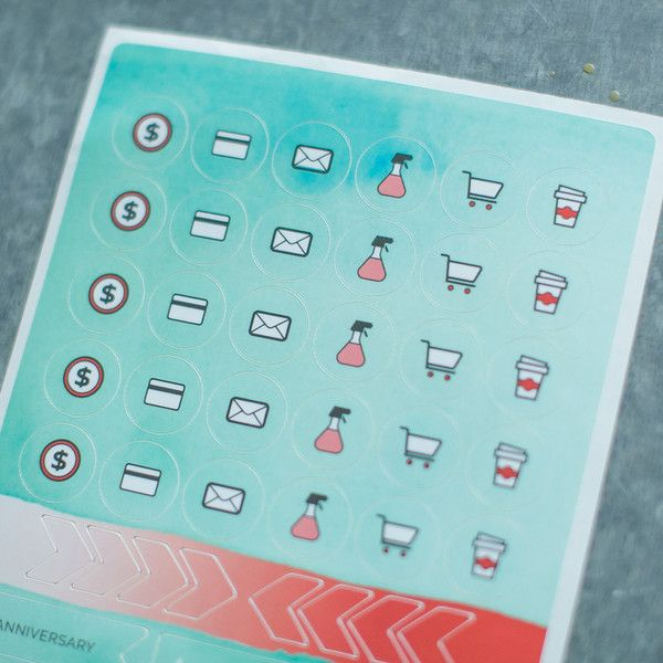 Nitty Gritty Stickers - Start Planner