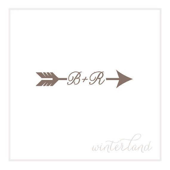 Maybe as a tattoo, but a little different...Love Arrow Stamp  Custom Made Save the by WinterlandCalifornia, $38.00