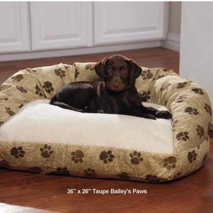 Deluxe Self-Warming Bolster Dog Bed