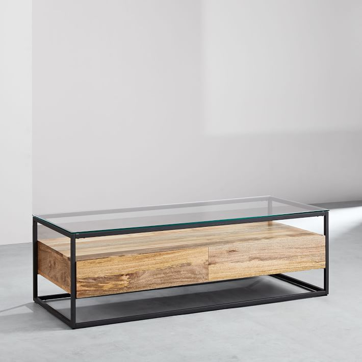 Box Frame Storage Coffee Table Large In 2020 Coffee Table Coffee Table With Storage Large Coffee Tables