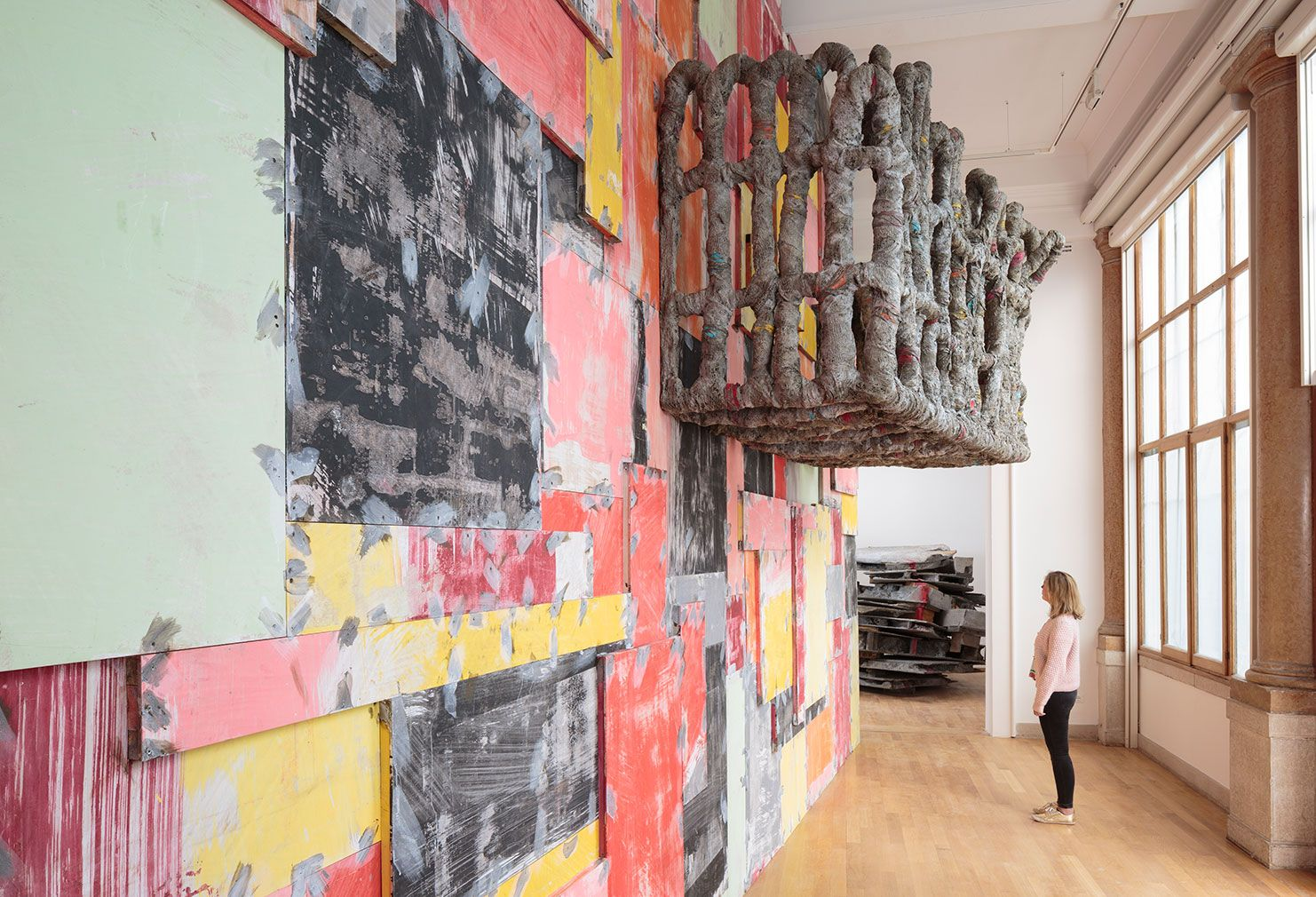 Phyllida Barlow's Folly installation in British Pavilion at the Venice Biennale