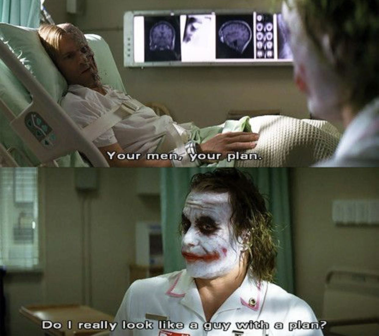 Heath Ledger As The Joker One Of My Favorite Performances Of All