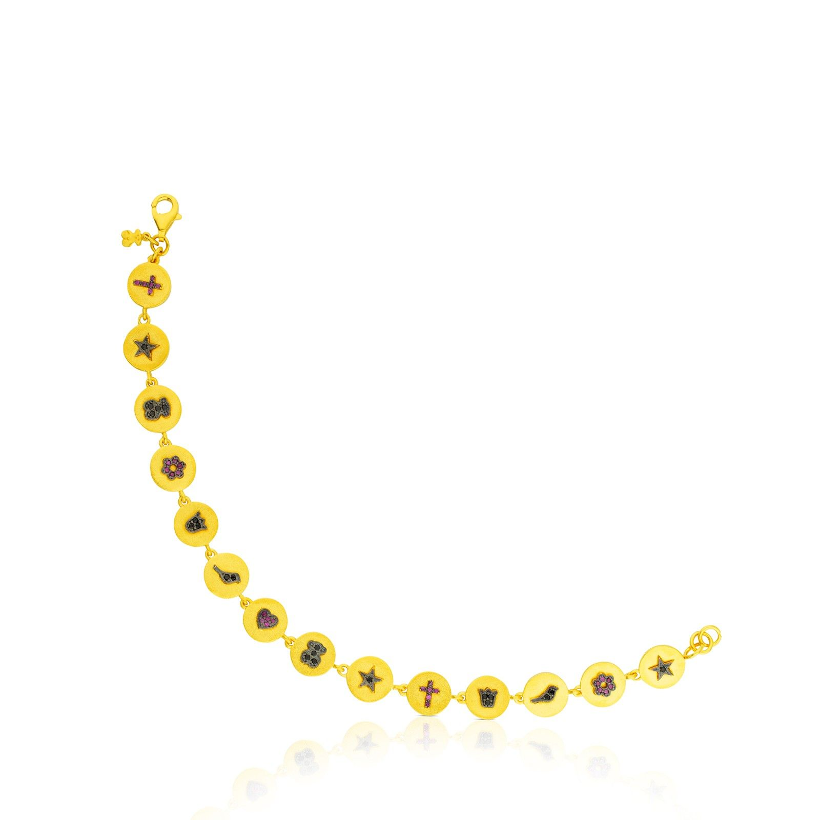 48cecf5065aa Vermeil Bahia Mini bracelet - Tous
