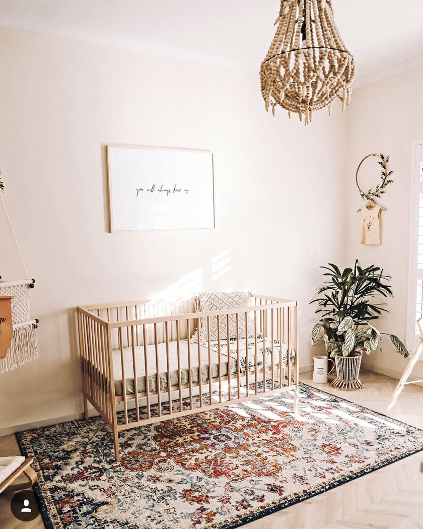 Natural Relaxing Nursery Colors Earthy Baby