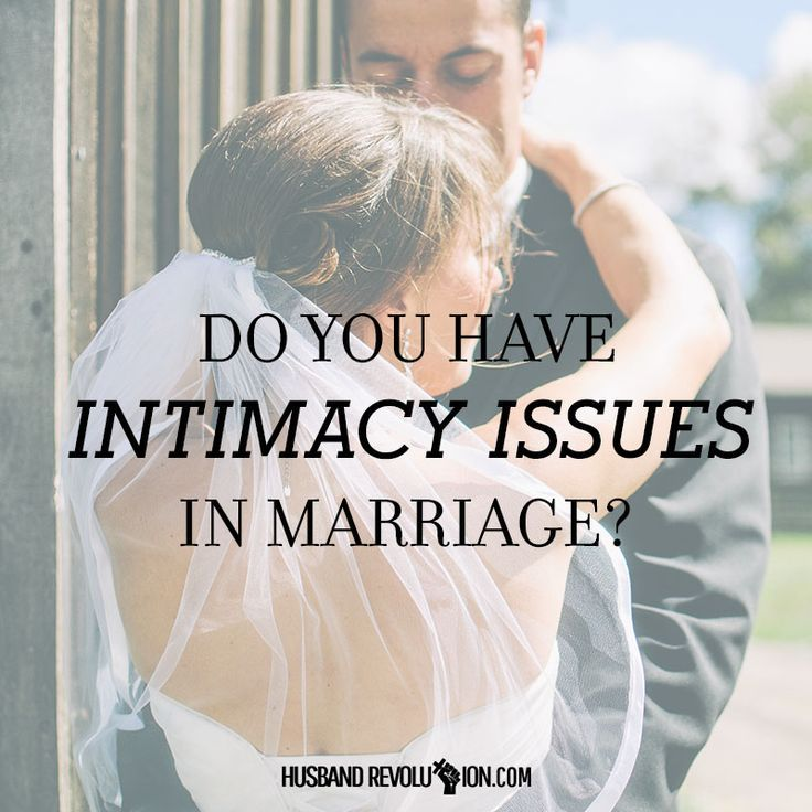 Causes of intimacy issues