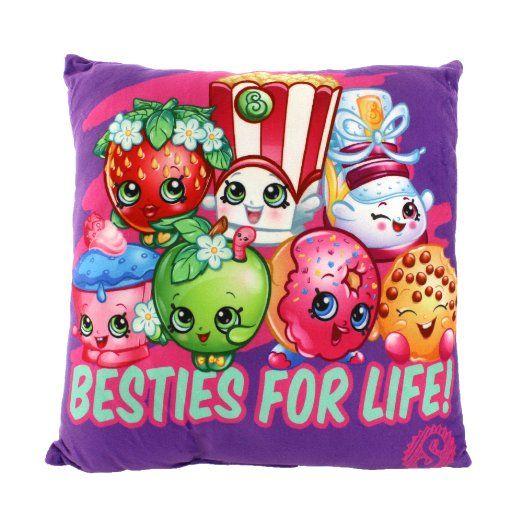 Shopkins Pillow Season 1 2 3 Kooky Cookie Cheeky Chocolate Chee Zee