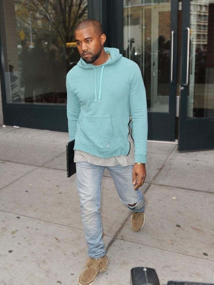 Get Kanye West S Similar Look Kanye West Style Kanye Fashion Hoodie Outfit Men