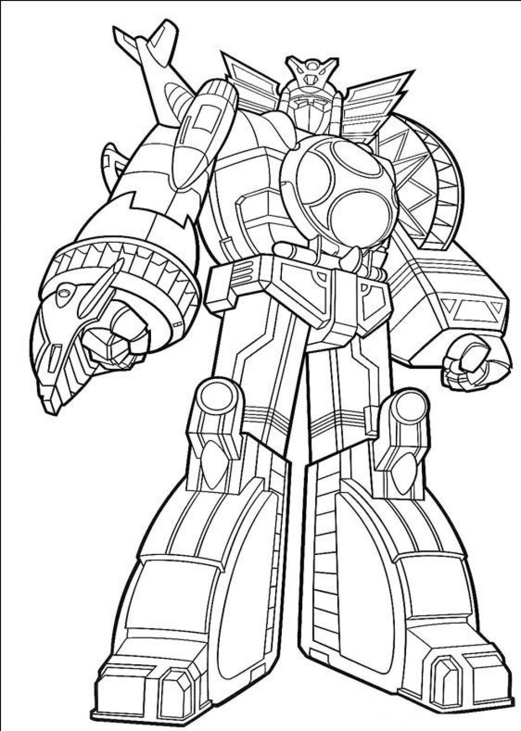 Pin By Marzena Dziubak On Szablony Power Rangers Coloring Pages Transformers Coloring Pages Animal Coloring Pages